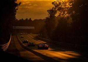 Le Mans 24 Stunden 2019 Sonnenuntergang von Bob Van der Wolf