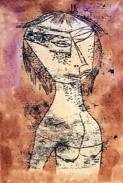 Paul Klee.Der heilige von 1000 Schilderijen