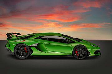 Lamborghini Aventador von Gert Hilbink
