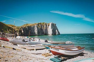 Die Klippen von Etretat, Normandie, Frankreich (5) von Daphne Groeneveld