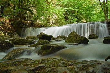 Die Wasserfälle Cascades de Herisson im französischen Jura von Robin Verhoef