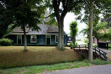 Twisk, Westfriesland: groene boerderij van Kees van Dun