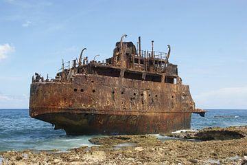 Havarie des Öltankers Maria Bianca Reiseführer von Johnno de Jong