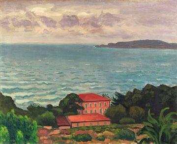 Blick auf den Hafen von Toulon, Albert Marquet