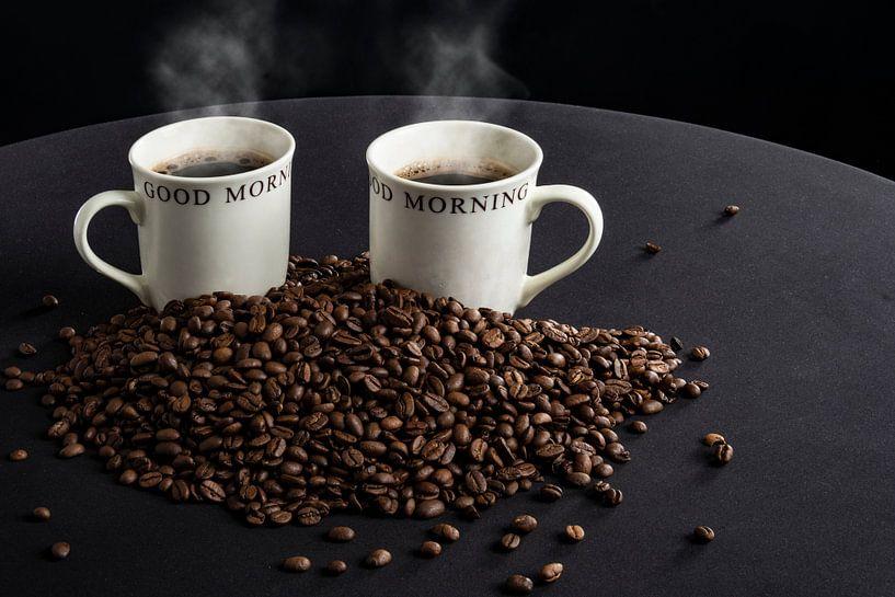 Koffie en bonen van Ton de Koning