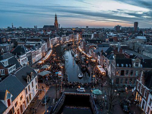Winterwelvaart 2017 Groningen van Peter Wiersema