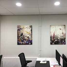 Klantfoto: Refugia van Jesper Krijgsman, op canvas