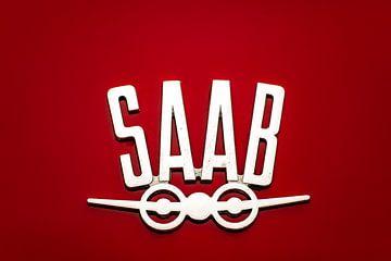 Oorspronkelijk Saab logo van Evert Jan Luchies