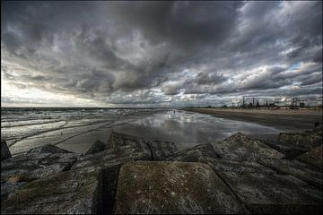 Noordpier in Wijk aan Zee von Mike Bing