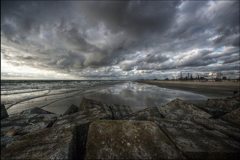 Noordpier in Wijk aan Zee sur Mike Bing