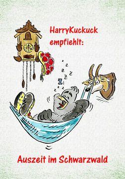 HarryKuckuck Auszeit im Schwarzwald von Ingo Laue
