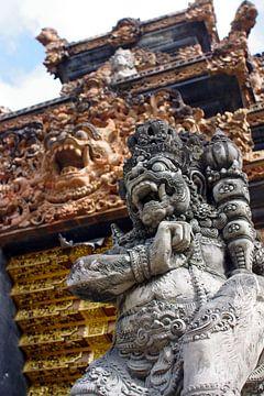 Demon Standbeeld Bali  van Andrew Chang