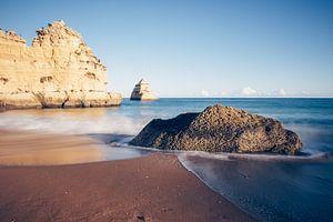 Praia Dona Ana (Algarve, Portugal) van Alexander Voss