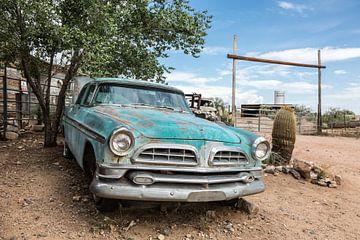 Oude Amerikaanse auto - Chrysler van