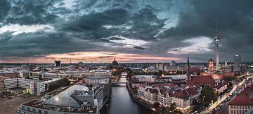 Berlijnse skyline van Sven Hilscher