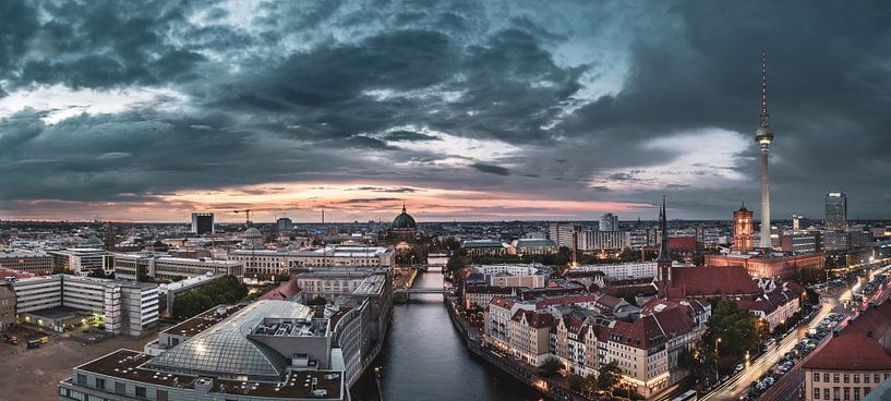 Berlin Skyline sur Sven Hilscher