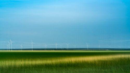 Moulin à vent dans le Flevoland
