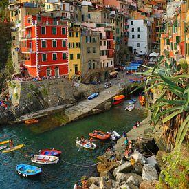 Riomaggiore Cinque Terre Italie von Jasper van de Gein Photography