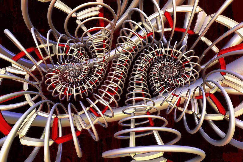 Double spirale sur Max Steinwald