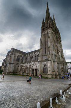 Kathedraal van Quimper van Mark Bolijn