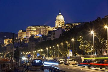 Burgpalast und Burgviertel in Budapest von Frank Herrmann