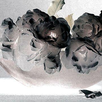 bloemenabstractie van Affect Fotografie