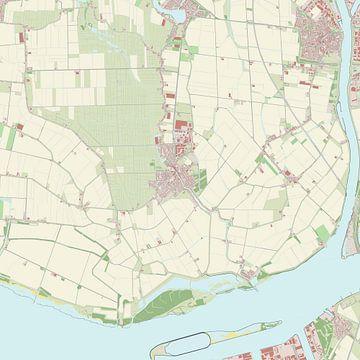 Kaart vanStrijen