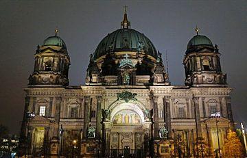 Berlijn bij nacht van Babetts Bildergalerie