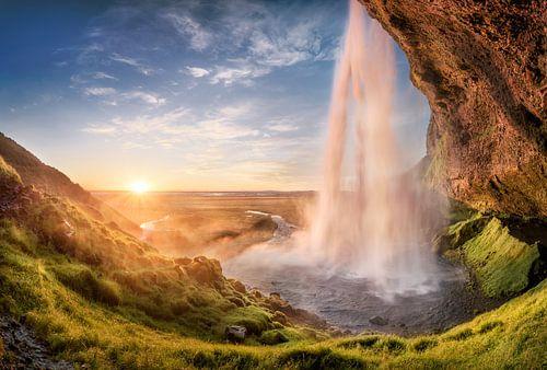 Seljalandsfoss Island | Wasserfall