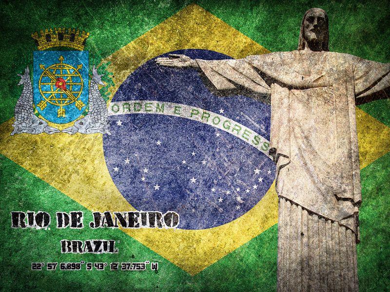 Rio de Janeiro von Printed Artings
