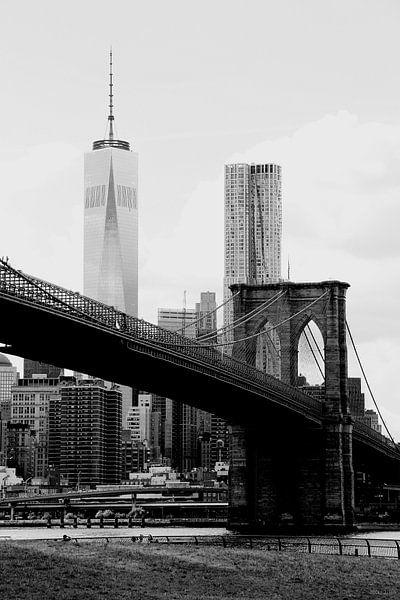 new york city ... brooklyn bridge II von Meleah Fotografie