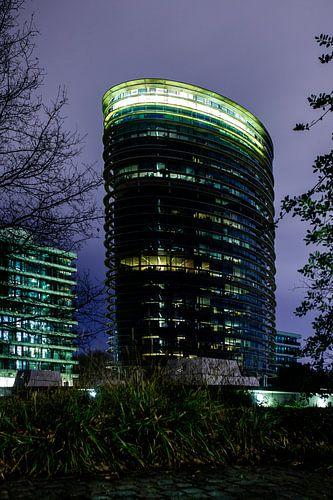 Tax Authorities Apeldoorn (The Netherland) at night