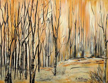 Forêt de Bouleaux sur Rita Tielemans