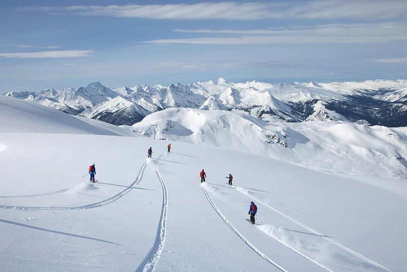 Columbia Mountains Canada van Menno Boermans