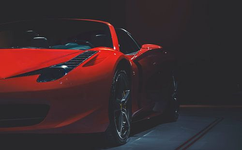 Ferrari van