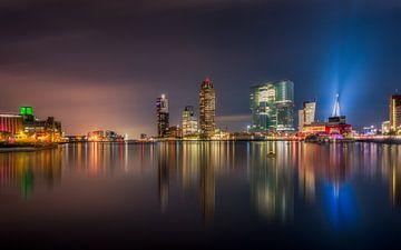 Rotterdam Skyline sur Michiel Buijse