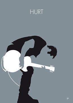 No197 MY Nine Inch Nails Minimal Music poster van Chungkong Art
