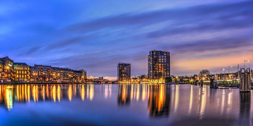Panorama Coolhaven Rotterdam van Frans Blok