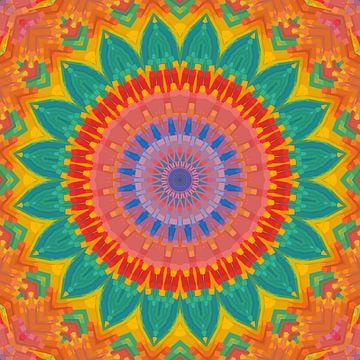Mandala type 4 van Marion Tenbergen