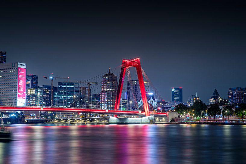 Willemsbrug Rotterdam van Jasper Verolme