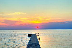 Le soleil s'en va pour la journée sur Roith Fotografie