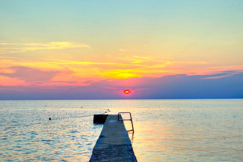 Die Sonne geht für heute von Roith Fotografie