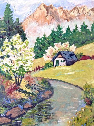 Spring Alpine van