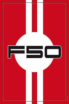 Ferrari F50, racewagenontwerp van Theodor Decker