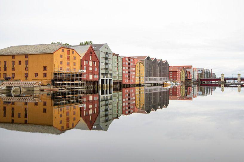 Trondheim norway van Gerard Wielenga