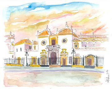 Sevilla Plaza De Toros Maestranza In Andalusien Spanien von Markus Bleichner