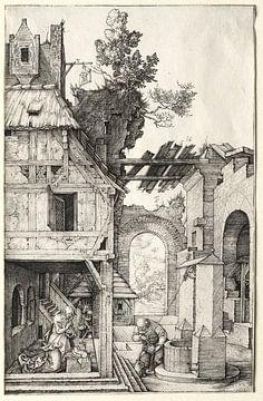 De geboorte van Jezus, Albrecht Dürer van De Canon