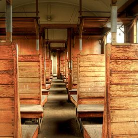 Abandoned Old Train van Nathalie Snoeijen-van Eck