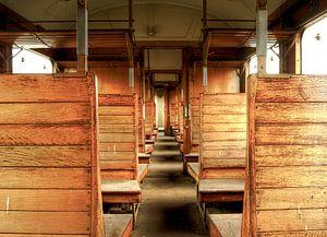 Abandoned Old Train
