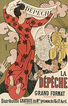 Affiche, krant, Maurice Denis van Atelier Liesjes